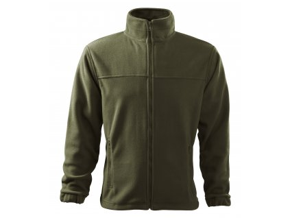 Mikina fleece Military oliv