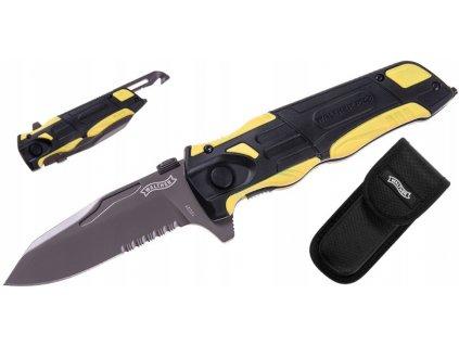 Nůž zavírací Walther Rescue Knife Pro černý 5.2012