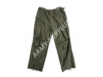 Kalhoty M65 oliv Fostex