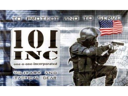 Vlajka 90x150cm 101 INC. Security č.196