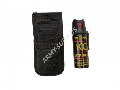 Plyn pepřový Pfeffer KO JET 50ml s pouzdrem Security set