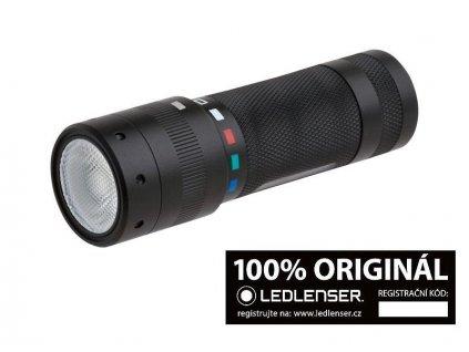 603b469cc Ledlenser T2QC taktická svítilna (baterka) 140 lm čtyřbarevné osvětlení  záruka 7 let
