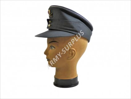 Čepice důstojník BW (Bundeswehr) šedá horský myslivec s odznaky