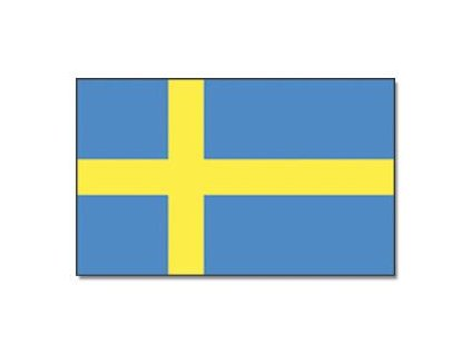 Praporek Švédsko č.051