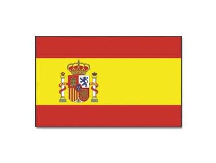 Praporek Španělsko se znakem č.045