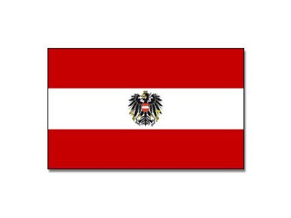 Praporek Rakousko s orlicí č.028