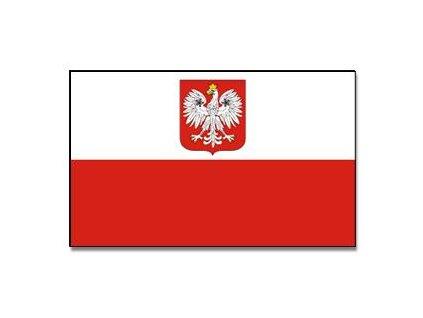 Praporek Polsko se znakem (orlice) č.036
