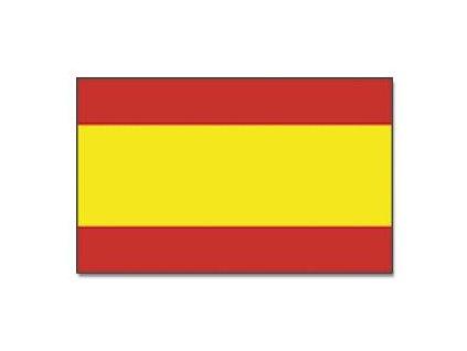 Praporek Španělsko bez znaku č.038