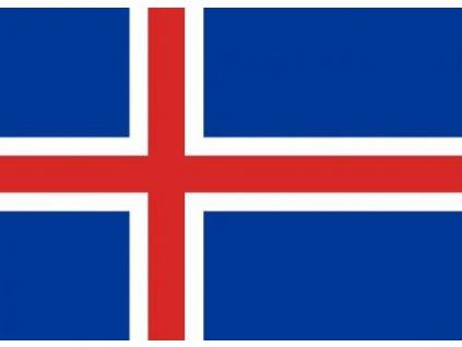 Vlajka Island 90x150cm č.99