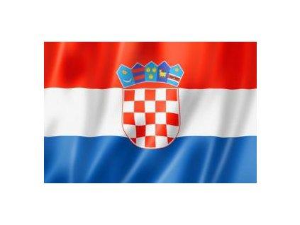 Vlajka Chorvatsko 90x150cm č.56