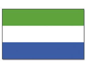 PROMEX Vlajka 90x150cm Sierra Leone č.175