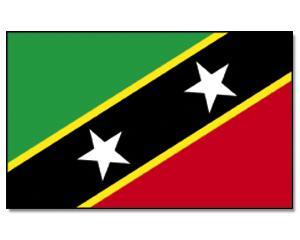 PROMEX Vlajka St. Kitts and Nevis 90x150cm č.204