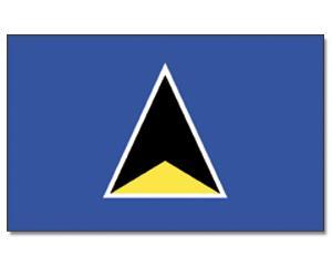 PROMEX Vlajka Svatá Lucie (Saint Lucia) 90x150cm č.205