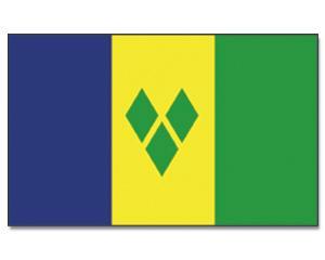 PROMEX Vlajka Svatý Vincenc a Grenadiny (Saint Vincent and the Grenadines) 90x150cm č.206