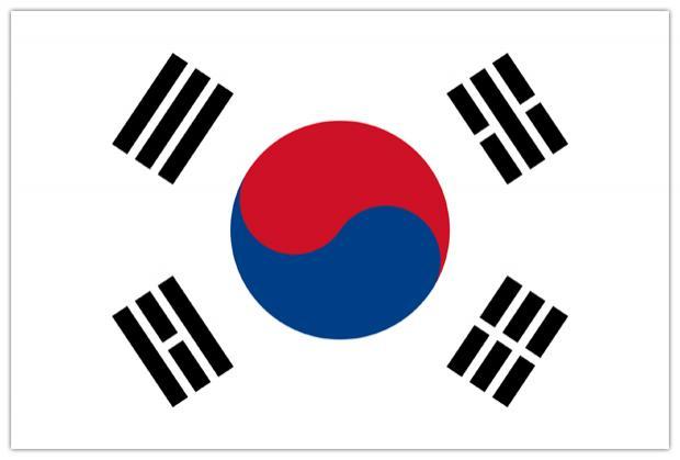 PROMEX Vlajka Jižní Korea 90x150cm č.97