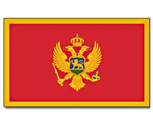 PROMEX Vlajka Montenegro 90x150cm č.119