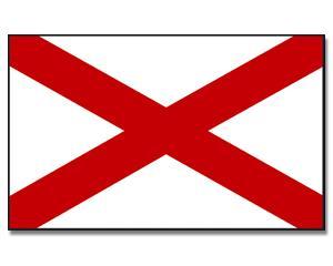 PROMEX Vlajka Alabama 90x150cm č.128