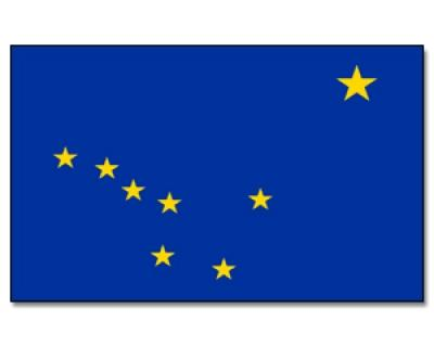 PROMEX Vlajka Aljaška 90x150cm č.109