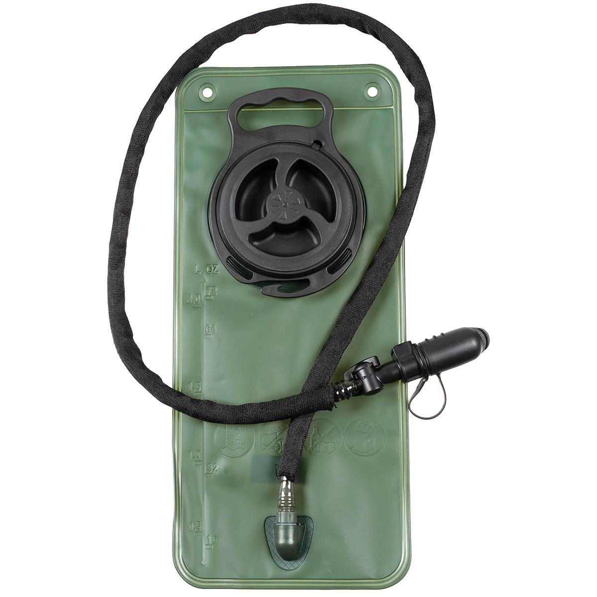 Vak na vodu (rezervoár camelbak) náhradní MFH 2,5L oliv