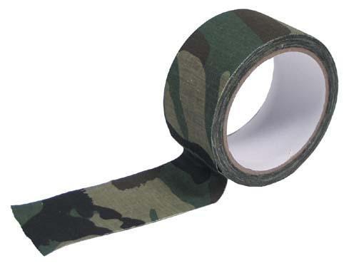 MFH Páska lepící textilní woodland