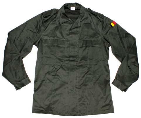 ARMÁDNÍ ORIGINÁL BELGIE Košile Belgie oliv originál Vyberte velikost: 50L