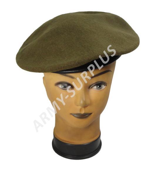 ARMÁDNÍ ORIGINÁL UK VELKÁ BRITÁNIE Baret Guards Divisions britský Velká Británie khaki použitý originál Velikost: 56