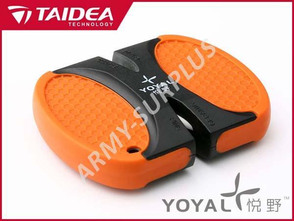 Brousek na nože oboustranný TAIDEA YOYAL 401324 orange