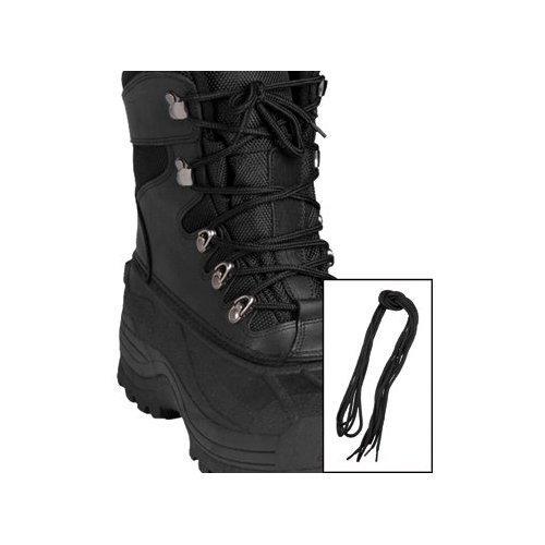 9bfcf5abd39 Tkaničky do bot černé kulaté 140cm Varianta  1 pár