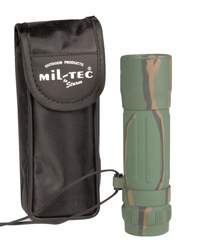 MILTEC Dalekohled monokulár 10 x 25 woodland
