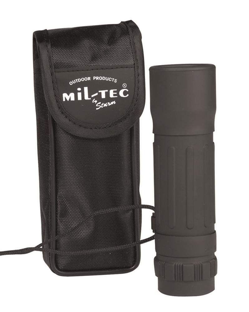 MILTEC Dalekohled monokulár 10 x 25 černý