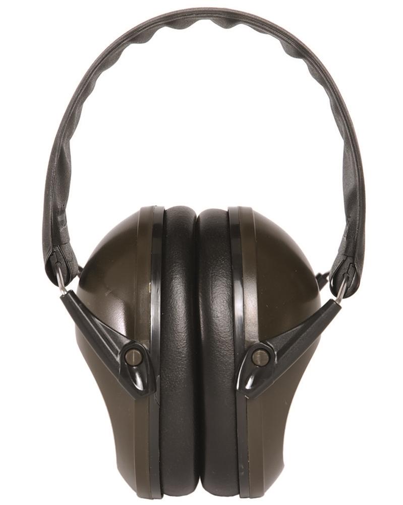 Chrániče sluchu britský model Peltor (sluchátka) Miltec oliv