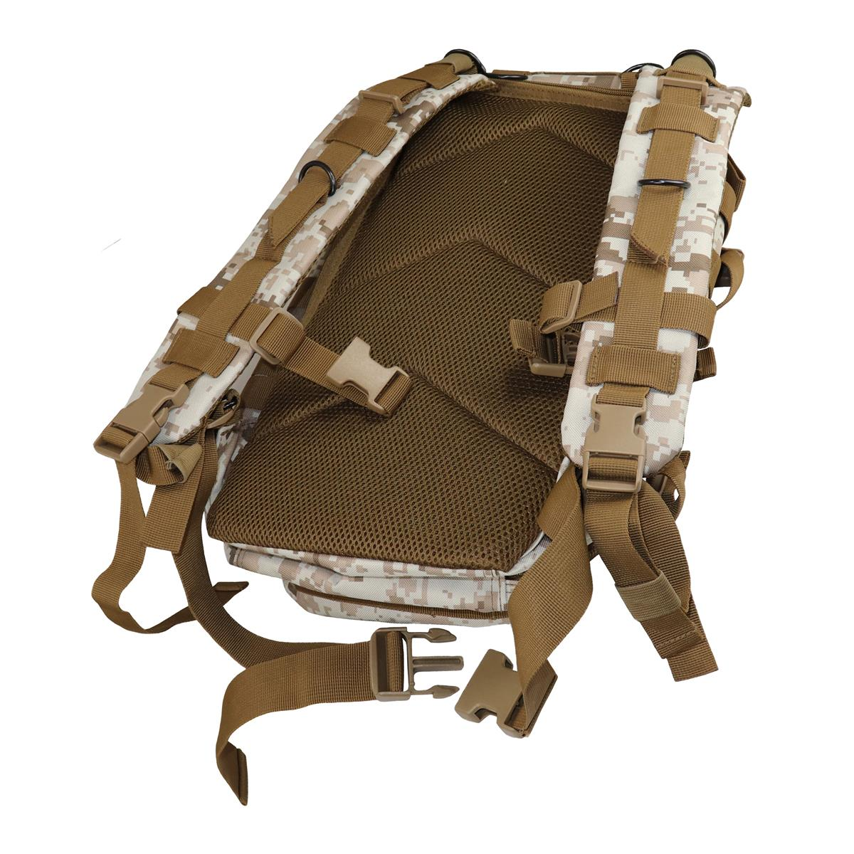 Batoh US ASSAULT Backpack coyote 25L molle CMG