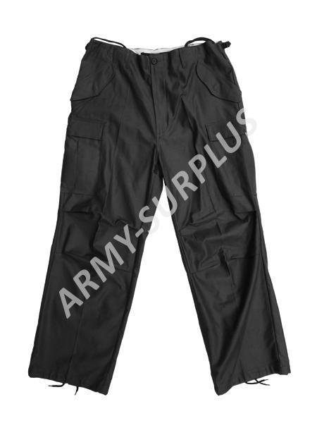 Kalhoty polní M65 repro černé Fostex Velikost: XL
