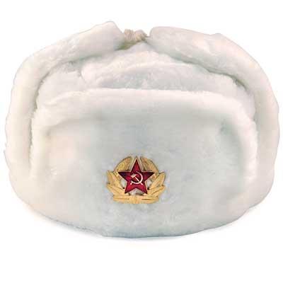 05346ffbef4 ARMÁDNÍ ORIGINÁL RUSKO Beranice ruská ušanka originál bílá Vyberte  velikost  54