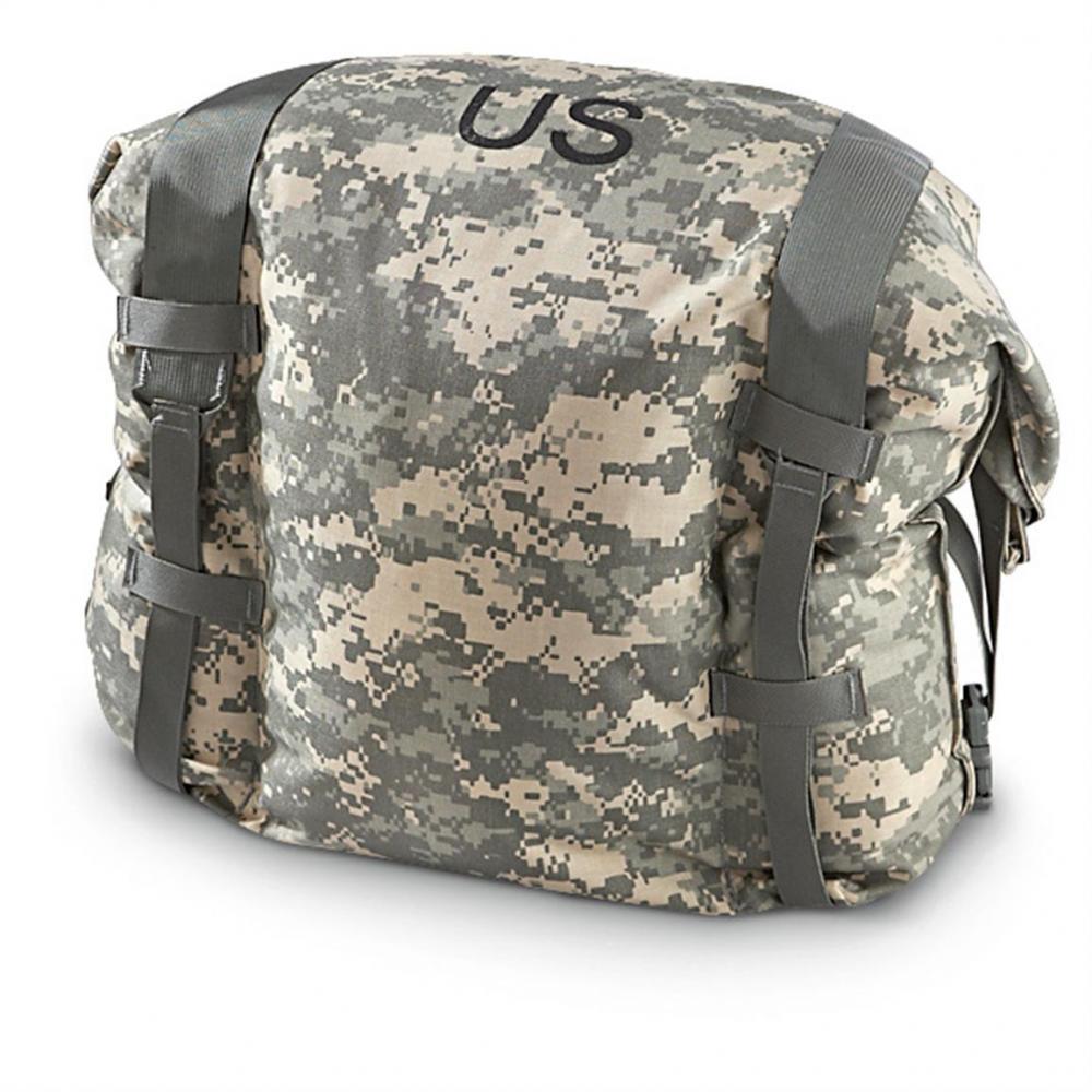 ARMÁDNÍ ORIGINÁL US ARMY Taška vak US na protichemický oblek ACU AT-Digital (JSLIST BAG) originál