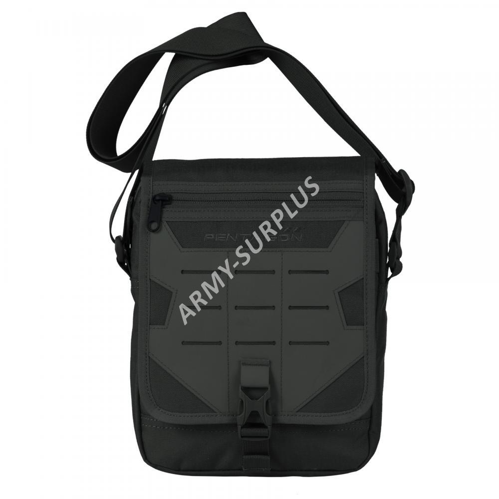 88d9cf0bc06 Batoh Messenger (taška) přes rameno Pentagon černá molle Laser K16087-01