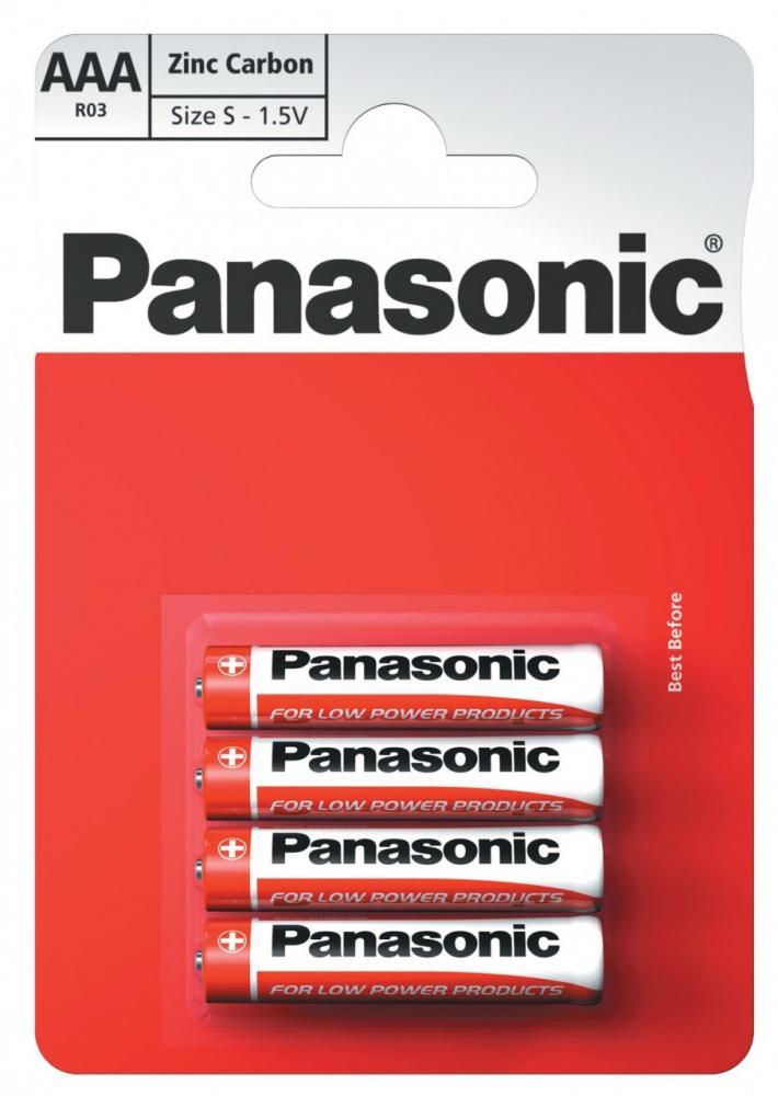Baterie Panasonic AAA 1,5V LR03 mikrotužkové