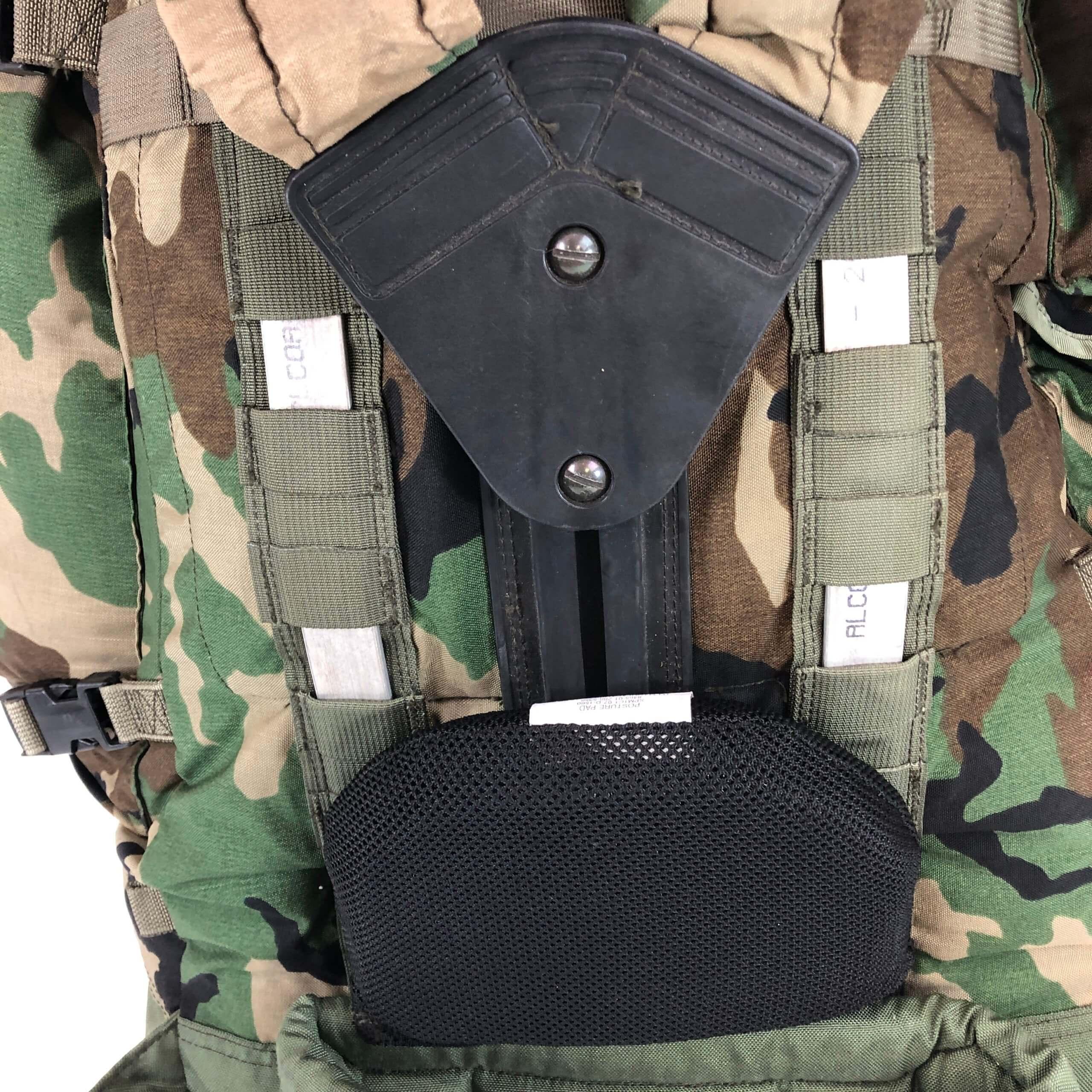 1faafb075b ARMÁDNÍ ORIGINÁL US ARMY Batoh US Ranger CFP-90 Molle woodland 90L  Varianta  bez
