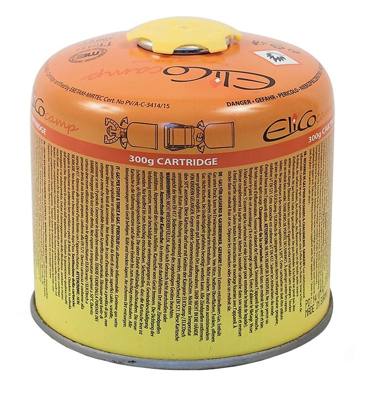 Náhradní plynová kartuš se závitem ELICOCAMP 300g