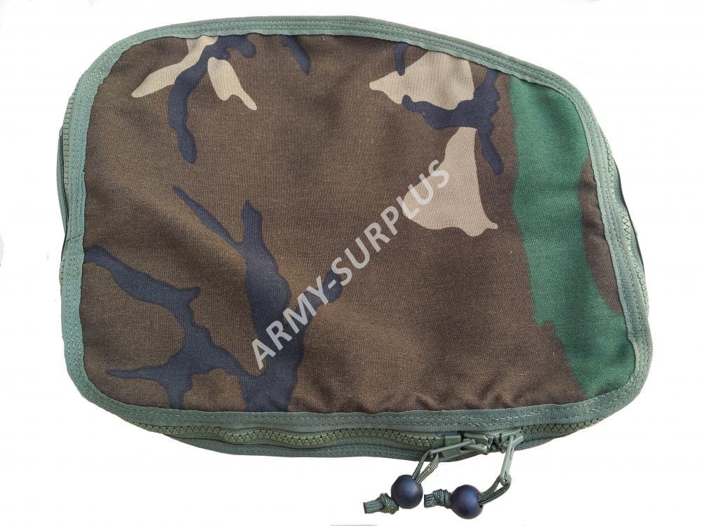 ARMÁDNÍ ORIGINÁL US ARMY Horní víko k batohu US AERIAL (PSGC RH POCKET,kapsa,sumka) woodland originál