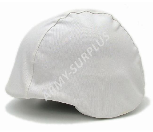 Potah (povlak,obal,převlek) na kevlarovou helmu CZ - bílý