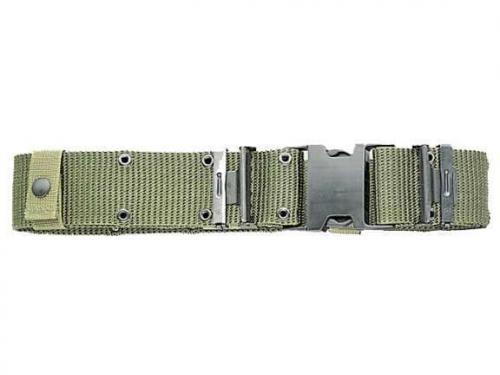 ARMÁDNÍ ORIGINÁL US ARMY Opasek US LC-2 (LC2) oliv spona Nexus originál Velikost: Medium (do 105cm)