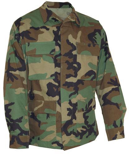 ARMÁDNÍ ORIGINÁL US ARMY Blůza US woodland BDU originál použitá Velikost: L/Long