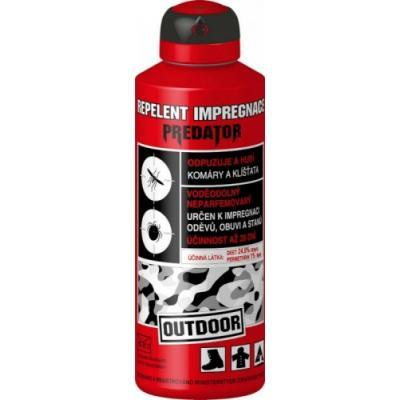 LEROY COSMETICS s.r.o. Repelent Predator Outdoor Impregnace spray 200 ml