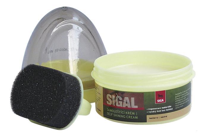SIGA SIGAL samoleštící bezbarvý regenerační krém 50ml