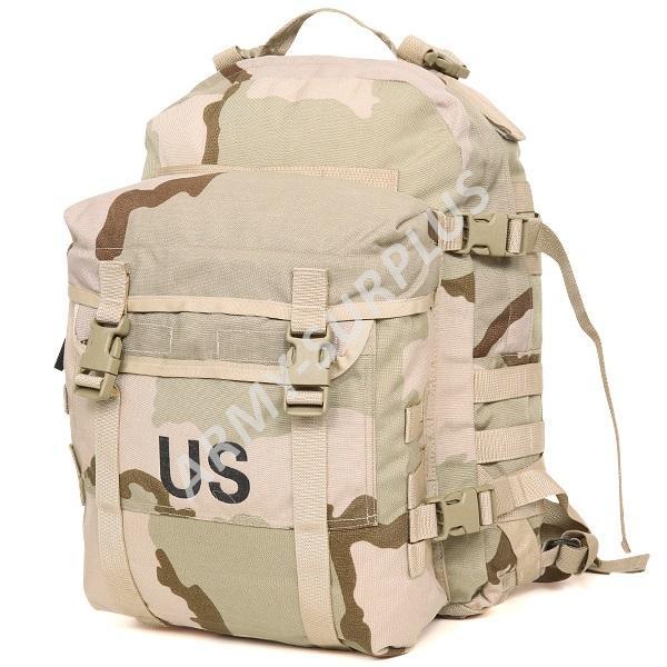 ARMÁDNÍ ORIGINÁL US ARMY Batoh US Assault Pack Molle II Backpack 35 L desert original