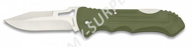 Nůž zavírací s klipem na opasek ALBAINOX ABS 18024 oliv
