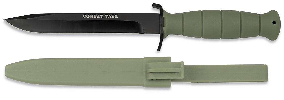Nůž bodák (bajonet) FM78 Albainox 32085 oliv model GLOCK