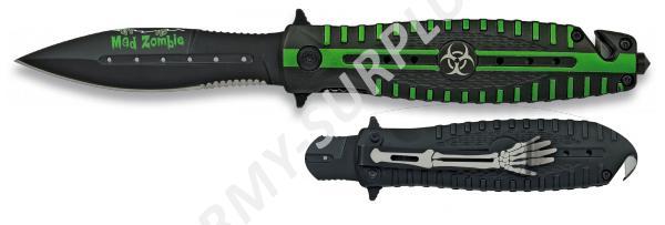 """Nůž zavírací Mad Zombie """"HAZARD I"""" 19483 záchranář Albainox"""