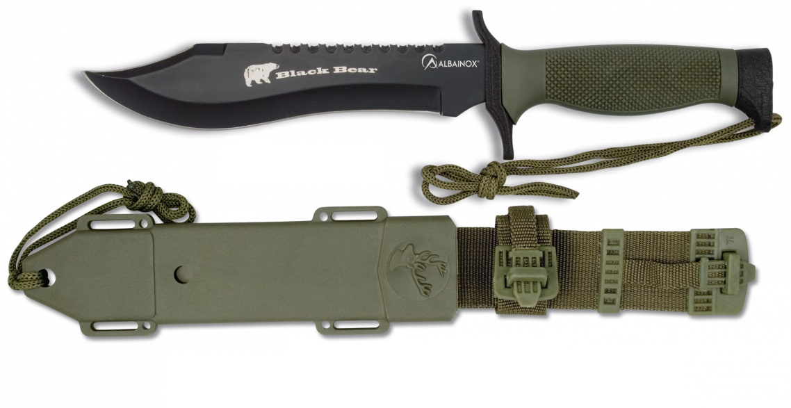 Nůž Albainox 31766 lovecký (hunting knife)